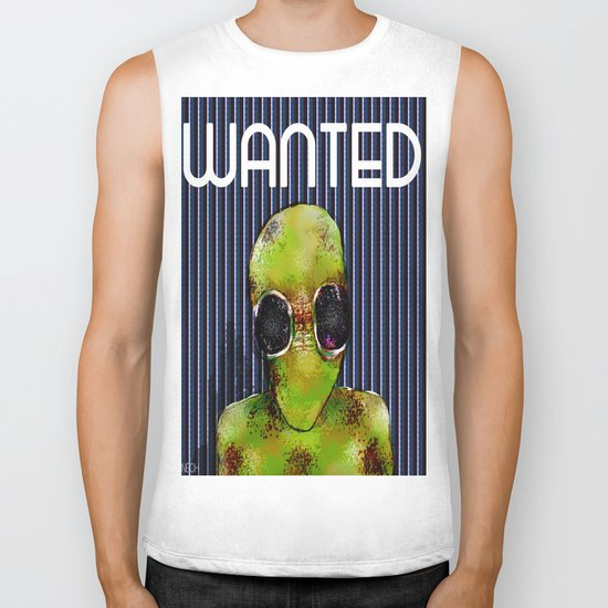 Wanted Alien Biker Tank