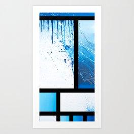 Freedie My Freeloader (IN BLK) Art Print