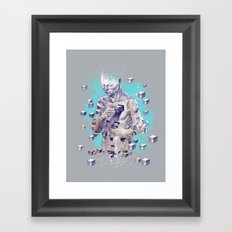 Create Yourself Framed Art Print