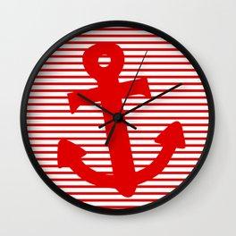 Boat Anchor Wall Clock