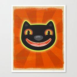 Happy Halloween Cat! Canvas Print