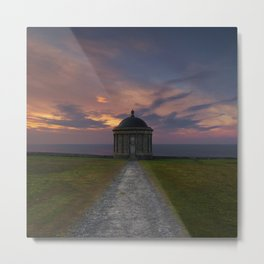 The Temple Of Light Metal Print