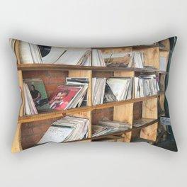 Albums On The Shelf Rectangular Pillow