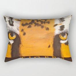 Eye of the Tiger Rectangular Pillow