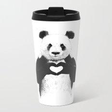 All you need is love Metal Travel Mug