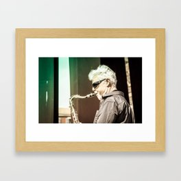 New jazz extent | France 2014 Framed Art Print