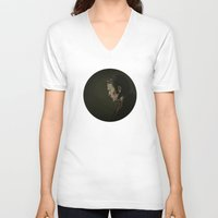 hannibal V-neck T-shirts featuring Hannibal by mycolour