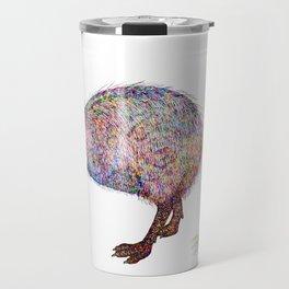 Painted Kiwi Bird Travel Mug