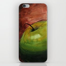 Fresh Green Apple iPhone Skin