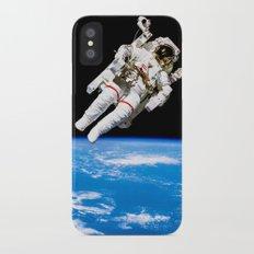 Astronaut Bruce McCandless Floating Free iPhone X Slim Case