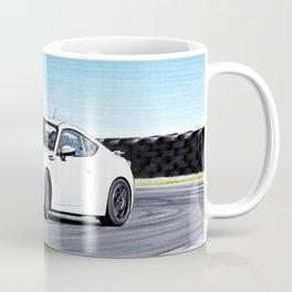 TOYOTA GT86 AUTOMOBILE DRIFTING ON SUNNY TRACK Coffee Mug