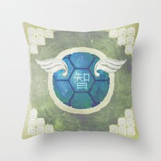 Troopa of Wisdom Throw Pillow