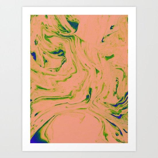 Marble Art V3 #society6 #decor #buyart Art Print