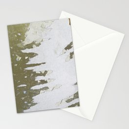 fish backbone Stationery Cards
