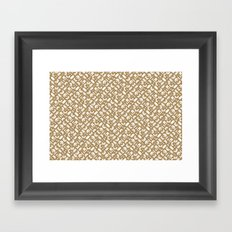 Control Your Game - Starfish Framed Art Print