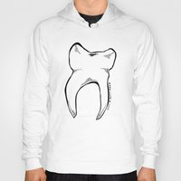tooth Hoodies featuring Tooth by Addison Karl