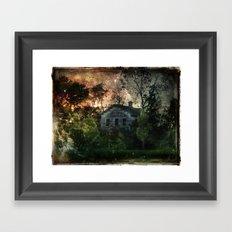 The Ghost House Framed Art Print