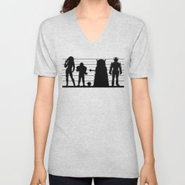 Doctor Who: The Whovian Suspects Unisex V-Neck