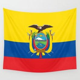 Ecuador Flag Wall Tapestry