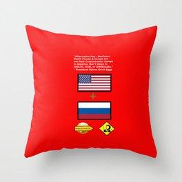 @UN Throw Pillow