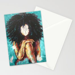 Naturally I TEAL Stationery Cards