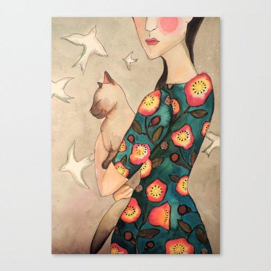 la reverie Canvas Print