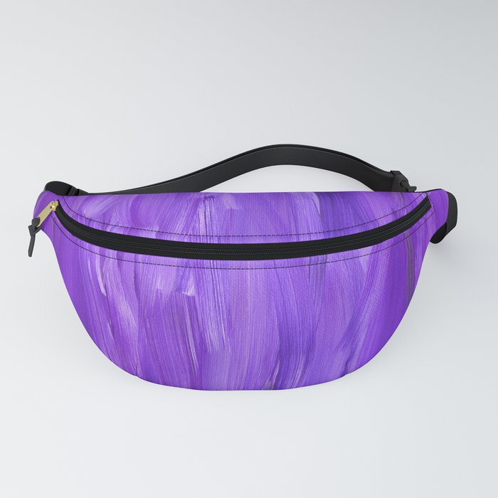 Purple Abstract 2 Fanny Pack