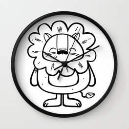 Litlle Lion Wall Clock