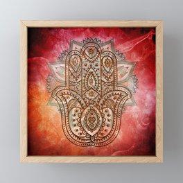 Hand of Fatima Framed Mini Art Print