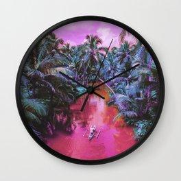 Cocos River Wall Clock