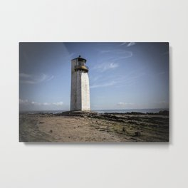 Southerness Lighthouse Metal Print