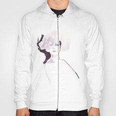 Fashion illustration in pale colors Hoody