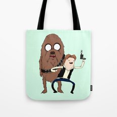 Space Adventure! Mans Best Friend Tote Bag