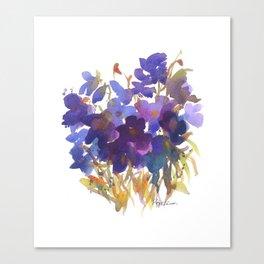 Petite Violets Canvas Print