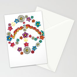 Nature Peace Sign LGBT Stationery Cards