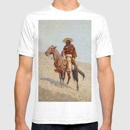 """Mexican Vaquero Horseman"" by Frederick Remington T-shirt"