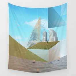 atmosphere 9 · Dreamland - Waiting for Rene Wall Tapestry