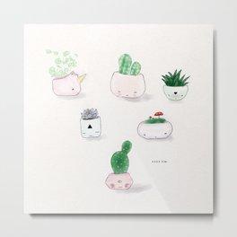 🌱 Plants 🌱 Metal Print