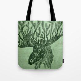 Moose-fir Tote Bag