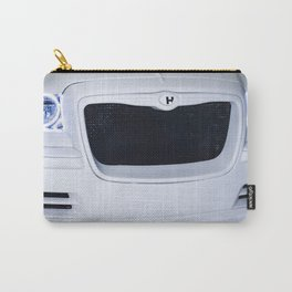 Halo Wht Metal Carry-All Pouch