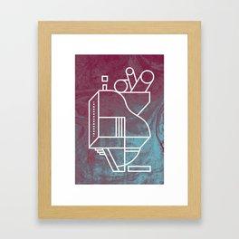 No 3 Framed Art Print