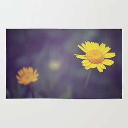 Miss Yellow Daisy Rug