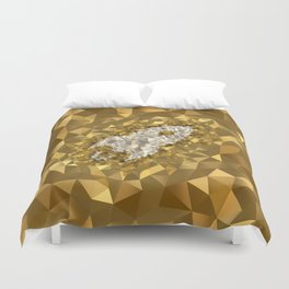 POLYNOID Rocket / Gold Edition Duvet Cover