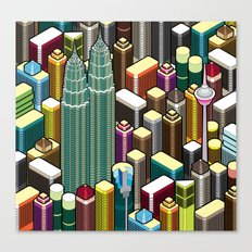 KL City Canvas Print