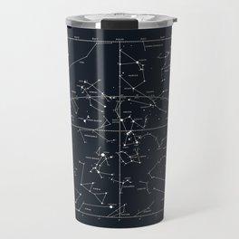 star chart Travel Mug