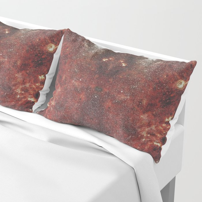 Mirrored Galaxy Pillow Sham