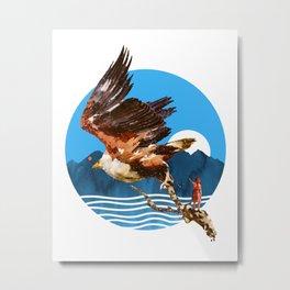 Eagles Fly Metal Print