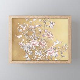 Chinoiserie Gold Framed Mini Art Print