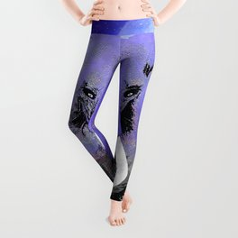 ELEPHANT MOON MOUNTAINS AND STARS Leggings