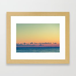 Soothe The Burn Framed Art Print
